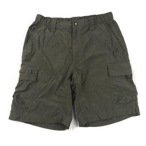 The North Face Men's Green Cargo Shorts
